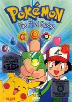 Pokemon vol 20 The final badge DVD