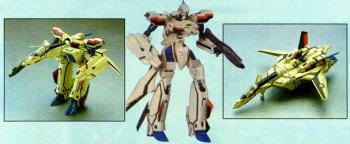 Macross Plus transformable Valkyrie YF-19