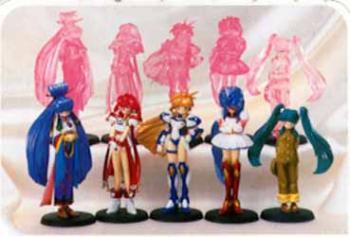 Galaxy Fraulein Yuna PVC figures