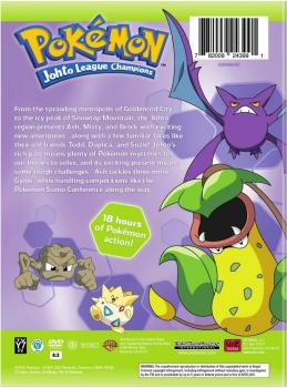 Pokemon: Season 4 - Johto Champions Collection DVD Box Set US