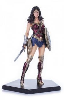 BATMAN V SUPERMAN DAWN OF JUSTICE STATUE 1/10 WONDER WOMAN 18 CM