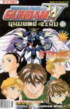 Mobile suit Gundam wing Ground zero 1