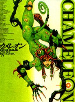 Chameleon illustration collection