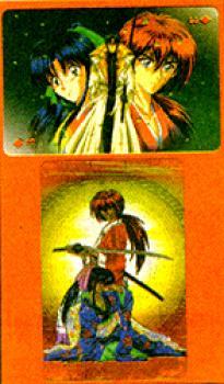 Rurouni Kenshin foil playing cards 1