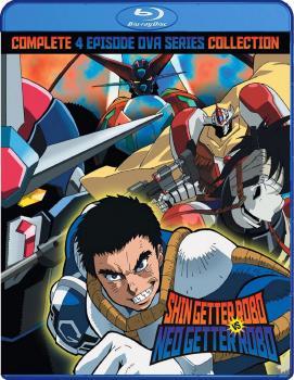 Shin Getter Robo vs Neo Getter Robo OVA Blu-ray