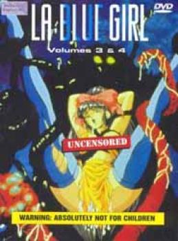 La blue girl vol 3-4 DVD