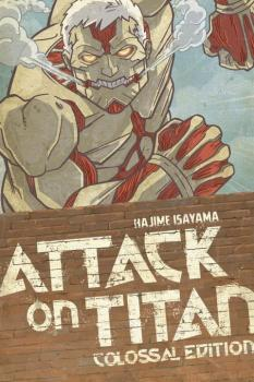 Attack on Titan Colossal Edition vol 03 GN Manga (Volumes 11-15)