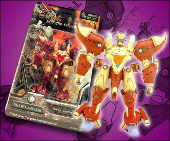 Omega boost 6-inch action figures: Beta boost