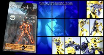 Neon genesis evangelion EVA unit 00 Yellow figure