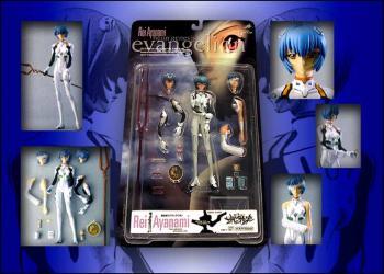 Neon genesis evangelion Rei ayanami figure