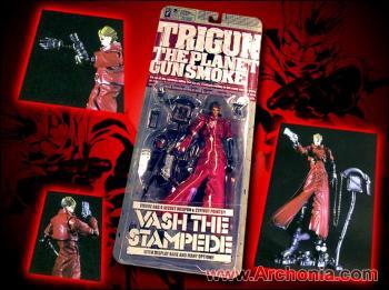 Trigun Vash the stampede action figure