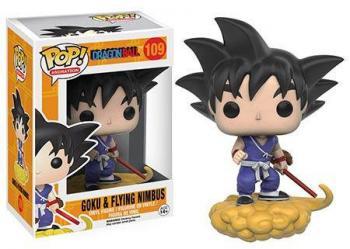 Dragon Ball Pop Vinyl PVC Figure - Goku & Nimbus