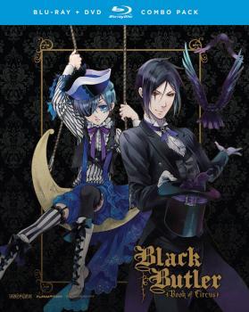 Black Butler Season 03 Complete Collection Blu-ray/DVD Combo