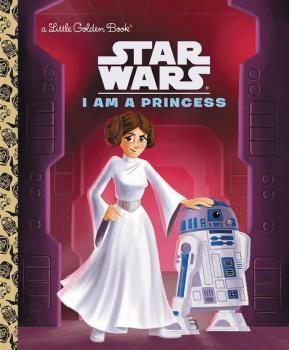 STAR WARS LITTLE GOLDEN BOOK I AM PRINCESS