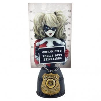 DC COMICS MUGSHOT BUST #001 HARLEY QUINN