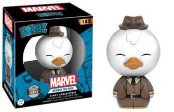 GUARDIANS OF THE GALAXY DORBZ VINYL FIGURE - HOWARD THE DUCK (LIMITED EDITION)