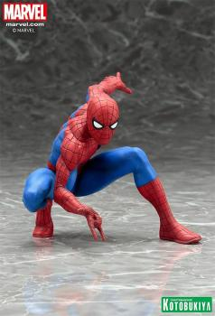 MARVEL COMICS ARTFX+ PVC STATUE 1/10 THE AMAZING SPIDER-MAN 9 CM
