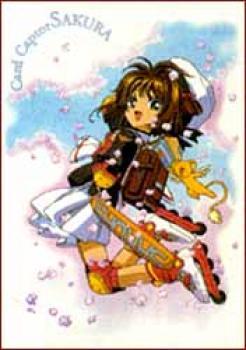Cardcaptor Sakura Skates T-shirt L