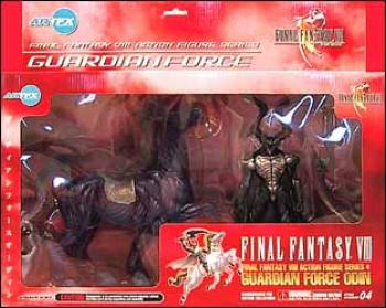 Final Fantasy 8 Guardian force Deluxe odin 2-pack clear version