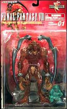 Final Fantasy 8 Guardian force series 1 clear figures Efrite