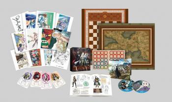 Heroic Legend of Arslan Season 01 Part 01 Blu-Ray UK