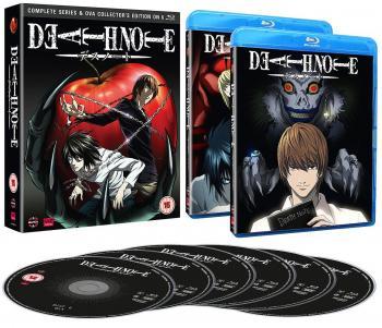 Death Note TV Series & OVA Blu-Ray UK