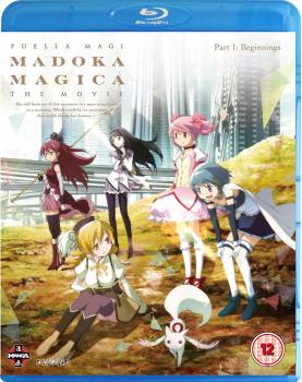 Puella Magi Madoka Magica The Movie Part 01 Beginnings Blu-Ray UK