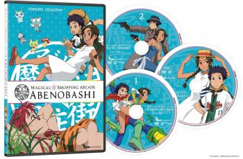 Magical Shopping Arcade Abenobashi Complete Collection DVD