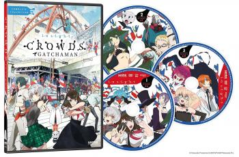 Gatchaman Crowds Season 02 Insight Complete Collection DVD