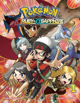 Pokemon Omega Ruby Alpha Sapphire vol 01 GN Manga