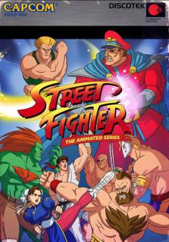 Street Fighter II The Animated Series DVD