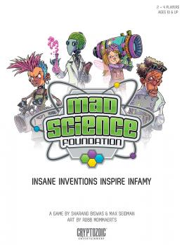 Mad Science Foundation Card Game - English