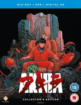 Akira The Collector's Edition Blu-Ray/DVD Combo UK