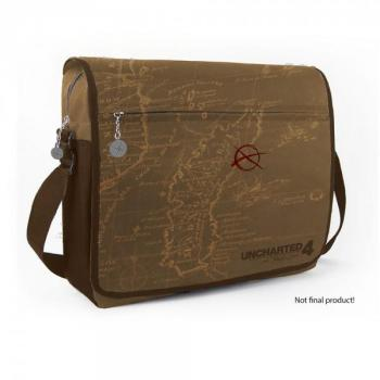 UNCHARTED 4 A THIEF'S END MESSENGER BAG MAP
