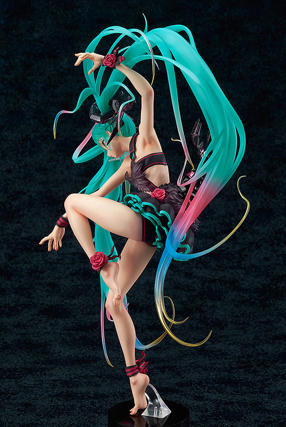 Vocal Series 01 Figure 1//7 Scale PVC Figure No Box Anime Hatsune Miku Mebae Ver