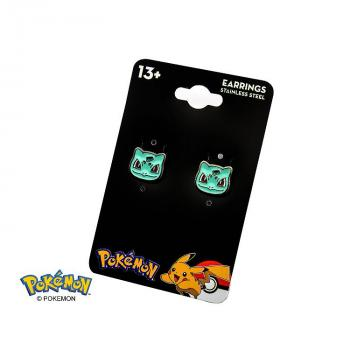 POKEMON JEWELRY STUD EARRINGS - BULBASAUR