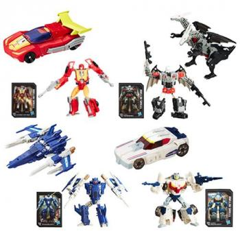 Transformers Generations Titans Return Action Figure - Deluxe Wave 03 Autobot Twinferno