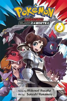 Pokemon Adventures Black 2 & White 2 vol 02 GN Manga