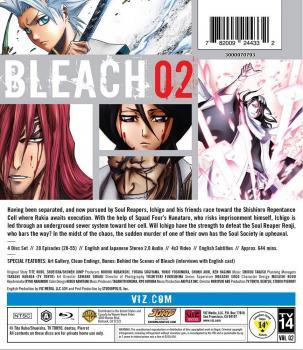 Bleach Set 02 Blu-ray