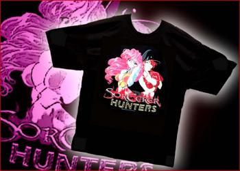 Sorcerer hunters logo T-shirt L