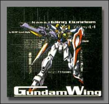 Gundam wing Grid T-shirt L