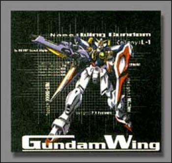 Gundam wing Grid T-shirt XL
