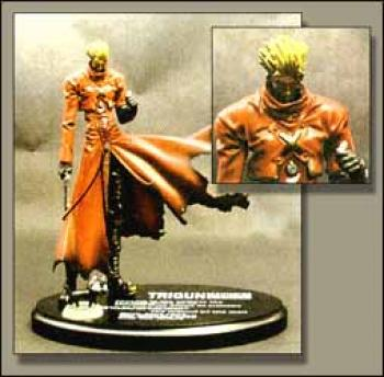 Trigun Vash the stampede resin statue