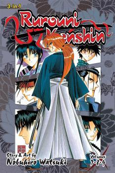 Rurouni Kenshin Omnibus vol 03 GN Manga