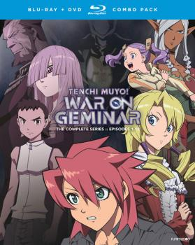 Tenchi Muyo War on Geminar Blu-ray/DVD