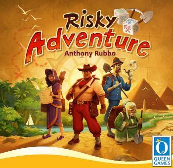 Risky Adventure Board Game EN/DE
