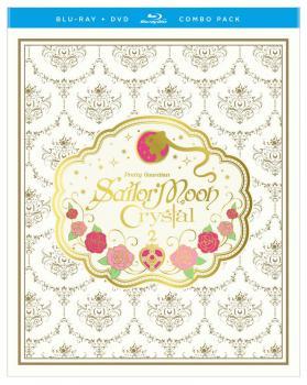 Sailor Moon Crystal Set 02 Limited Edition Blu-Ray/DVD