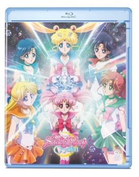 Sailor Moon Crystal Set 02 Blu-Ray/DVD