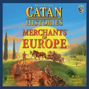 Catan Histories board Game - Merchants of Europe - English
