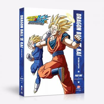 Dragon Ball Z Kai The Final Chapters Part 01 DVD